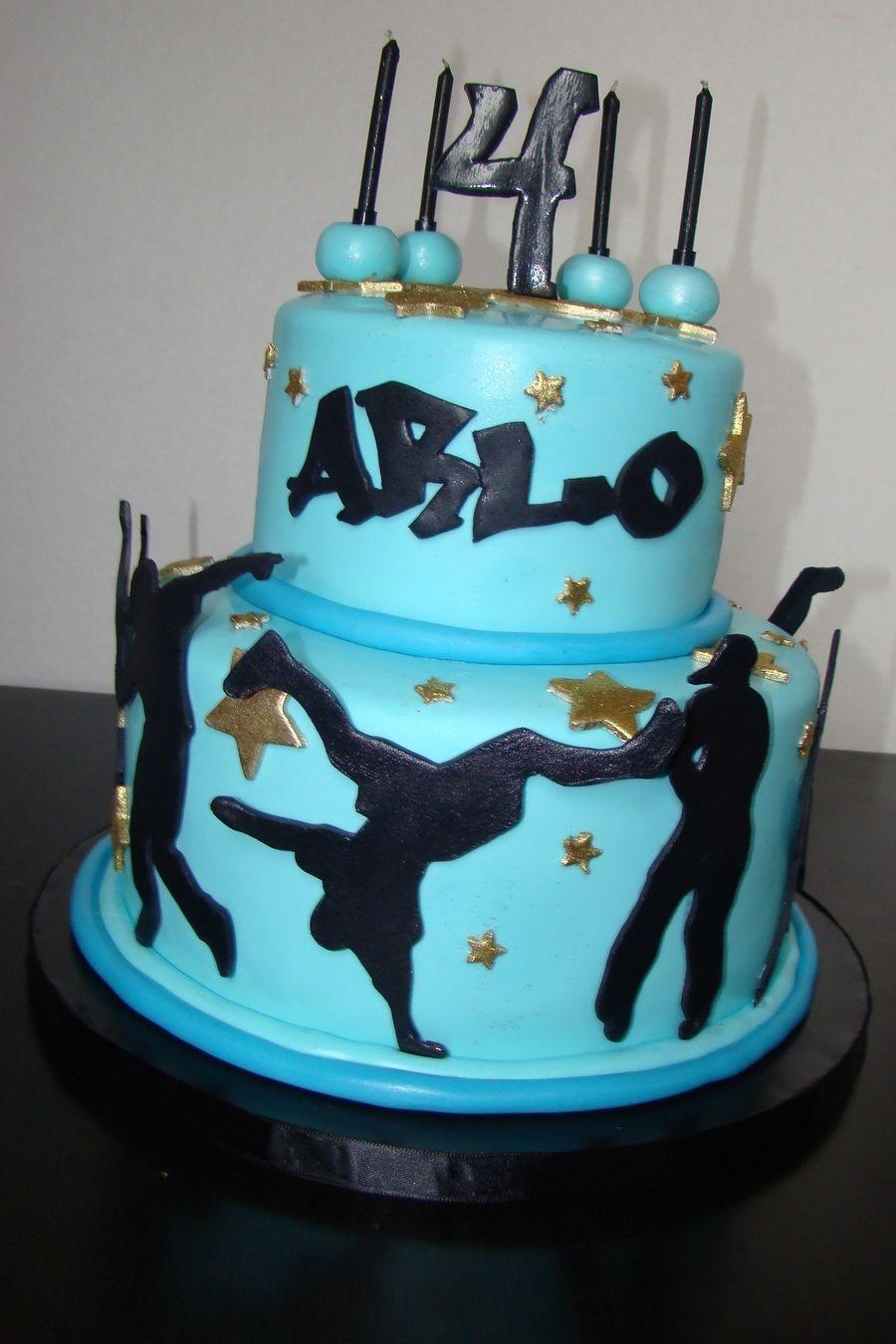 Hip Hop Dance Cake Dance cakes, Cool birthday cakes