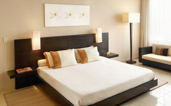 schlafzimmer einrichten stilvoll gemütlich helle farben - welche farben im schlafzimmer