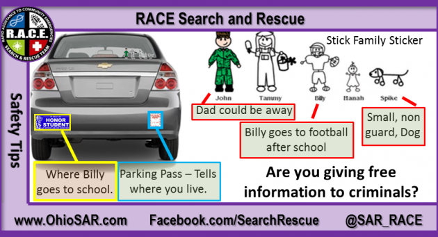 That StickFigure Decal On Your Car Could Be Putting Your Family - Decals for your car