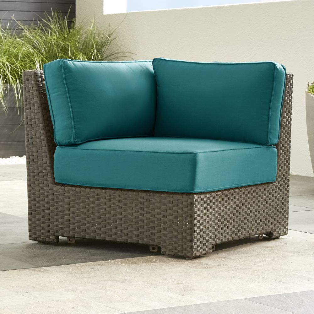 Ventura Modular Corner Chair with Sunbrella ® Cushions - Crate and ...