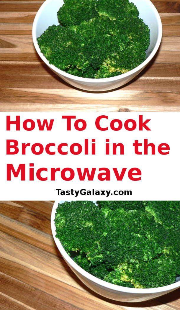 How To Microwave Broccoli - Keto and Vegan   Recipe ...