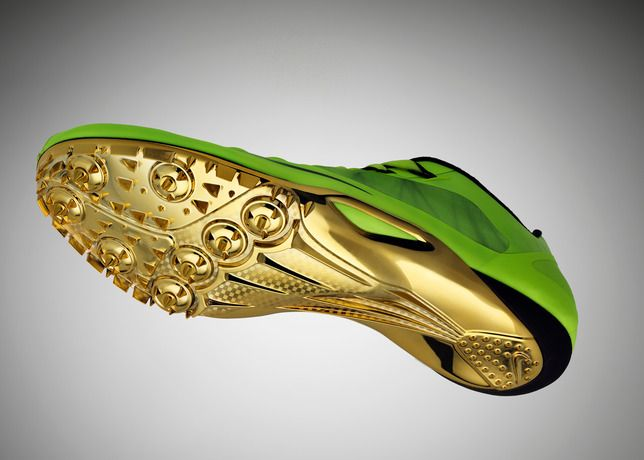 O I m not fast enough to run in gold plated spikes. Nike Zoom Super 2 Nike  Track Shoes ... 5d80ff451