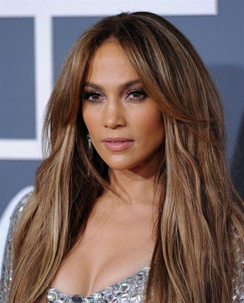 Giizela Blog Hårfärg Jennifer Lopez Fryzury I Włosy