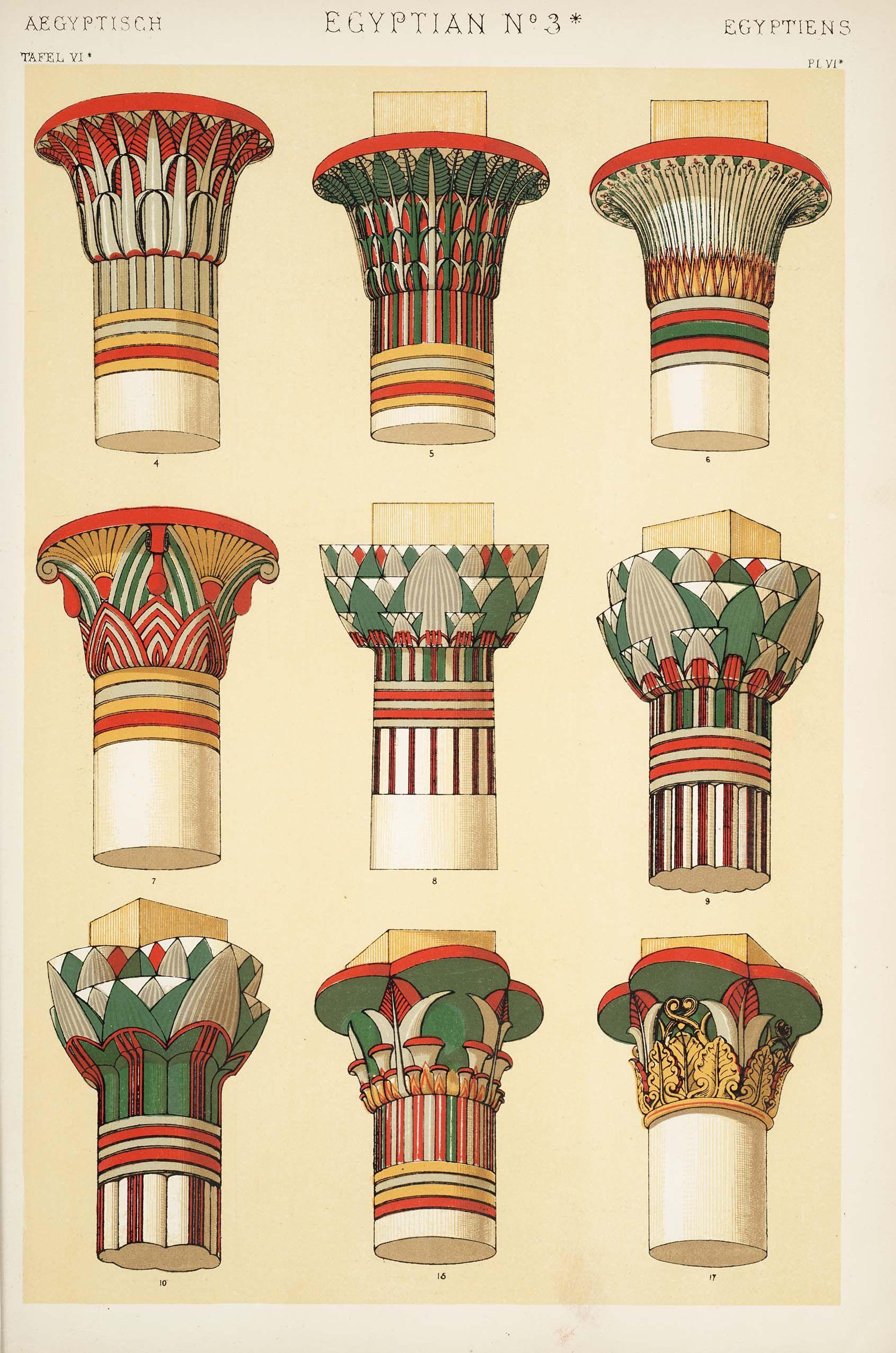 The grammar of ornament owen jones 1910 antique - Decoraciones gramar ...