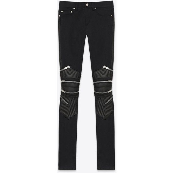 low waisted skinny jeans - Black Saint Laurent