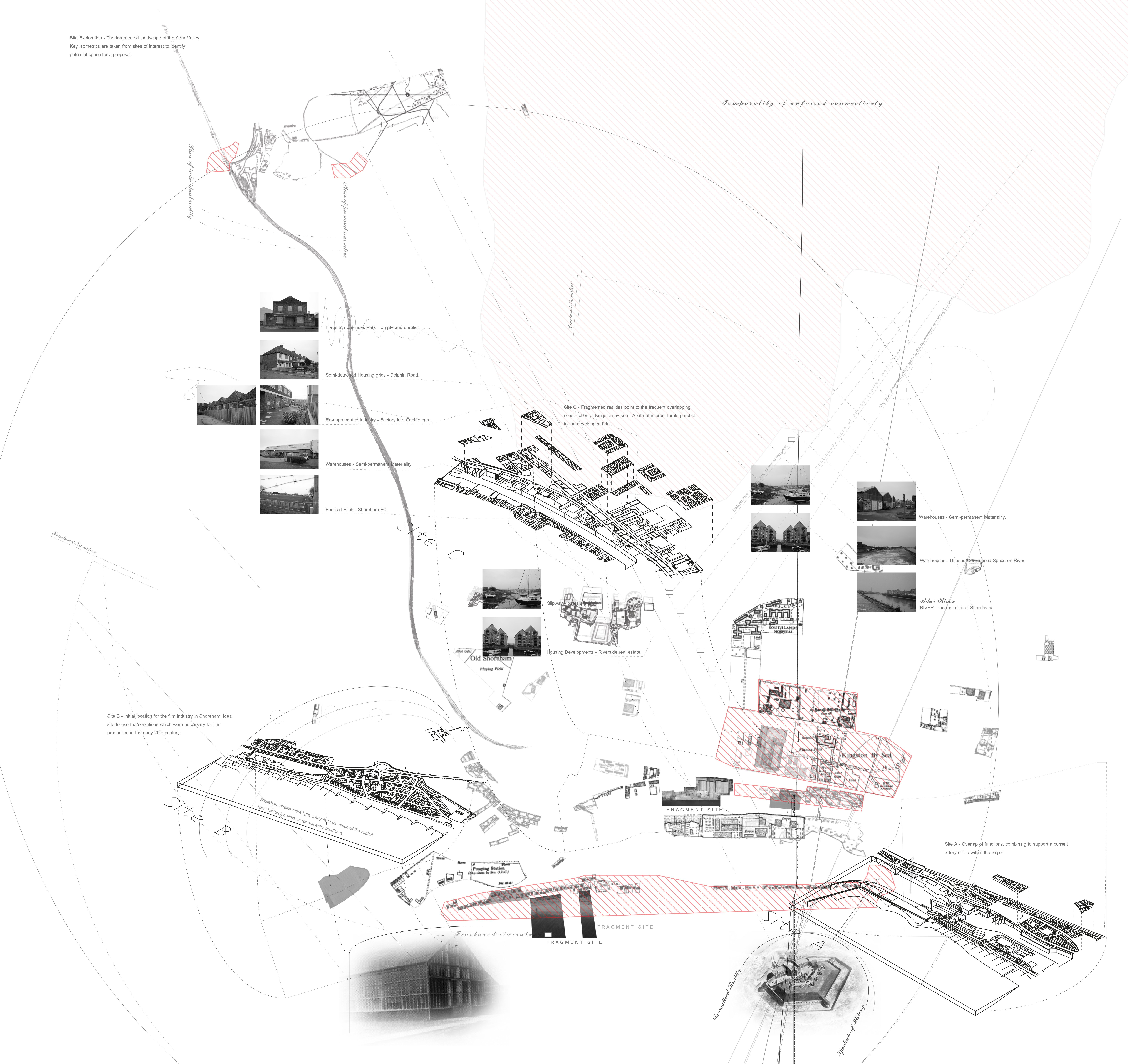 Site Architecture Map: Sebastian Elliott Fragmented Site Analysis