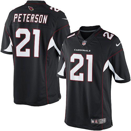 Nike Limited Patrick Peterson Black Men s Jersey - Arizona Cardinals  21  NFL Alternate 383a3200f
