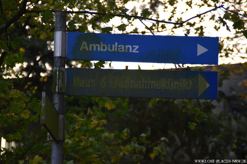 Fotos vom verlassenen Teil eines riesigen Nervenheilanstaltgebietes (Psychatrie) | Copyright: www.lost-places-nrw.de