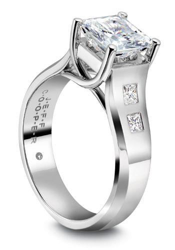 jeff sheldon cooper designs diamond modern style womens wedding ring modernbride