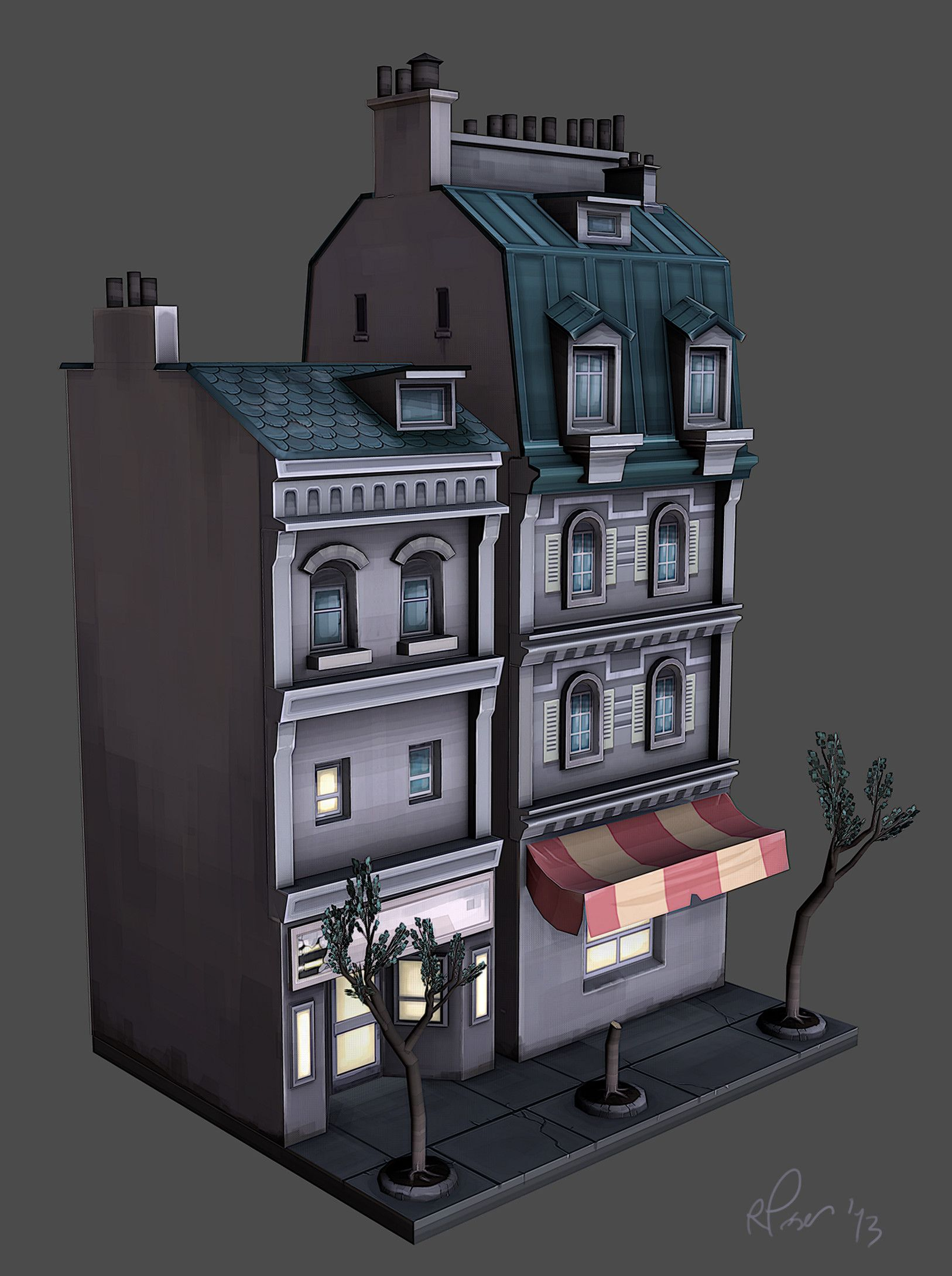LOWPOLY (sub 1000~ triangle models) - Page 430 - Polycount Forum