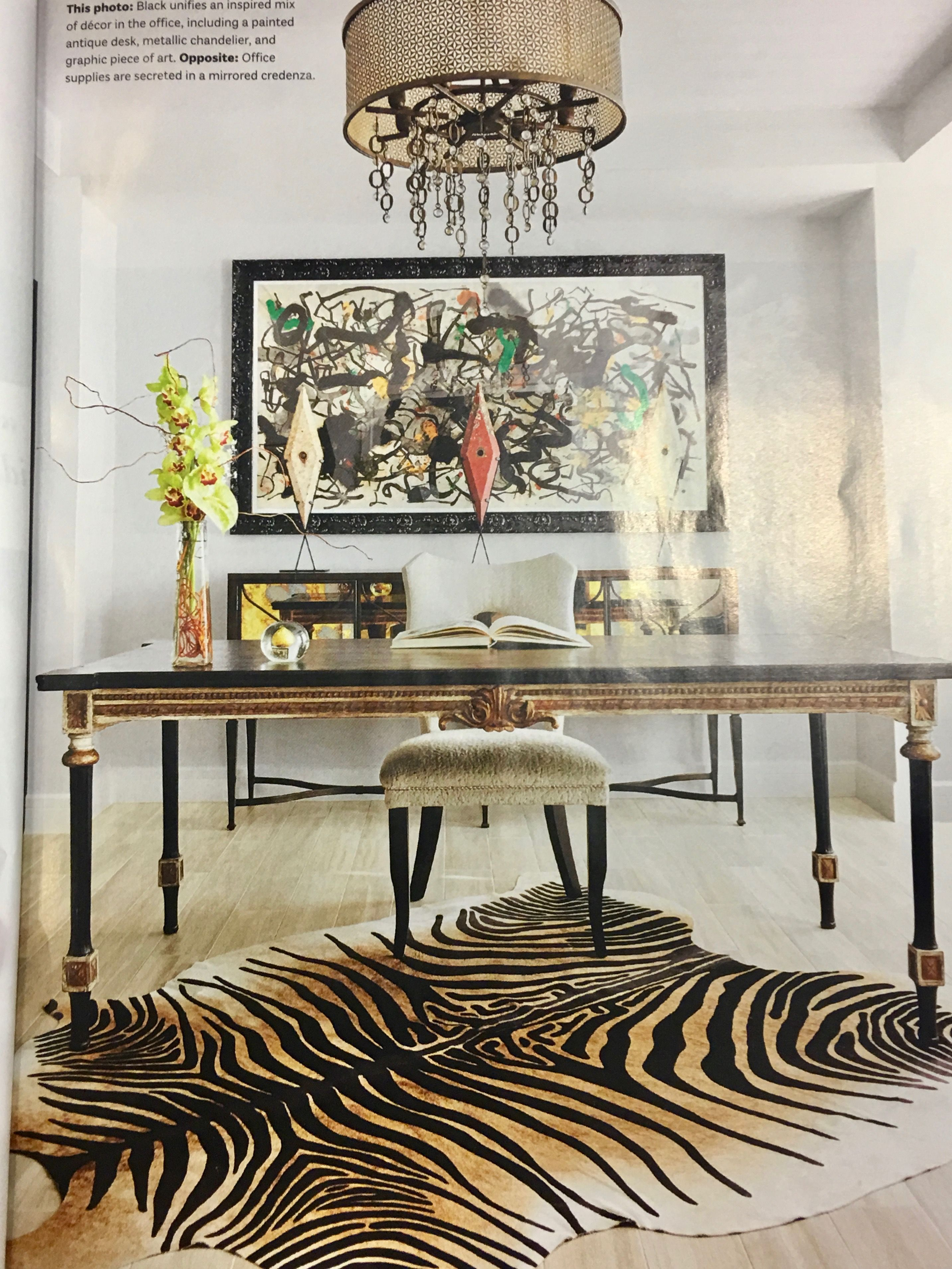 Magazine Clipping Of Simple And Elegant Home Office Hope