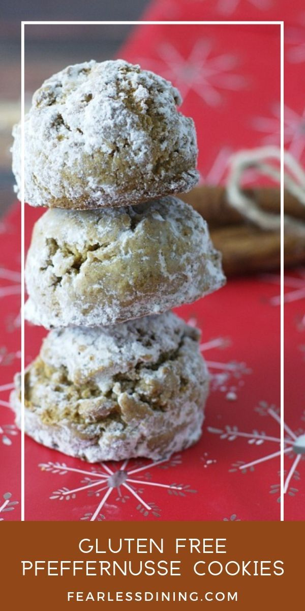 Gluten Free Pfeffernusse Cookies #glutenfreebreakfasts