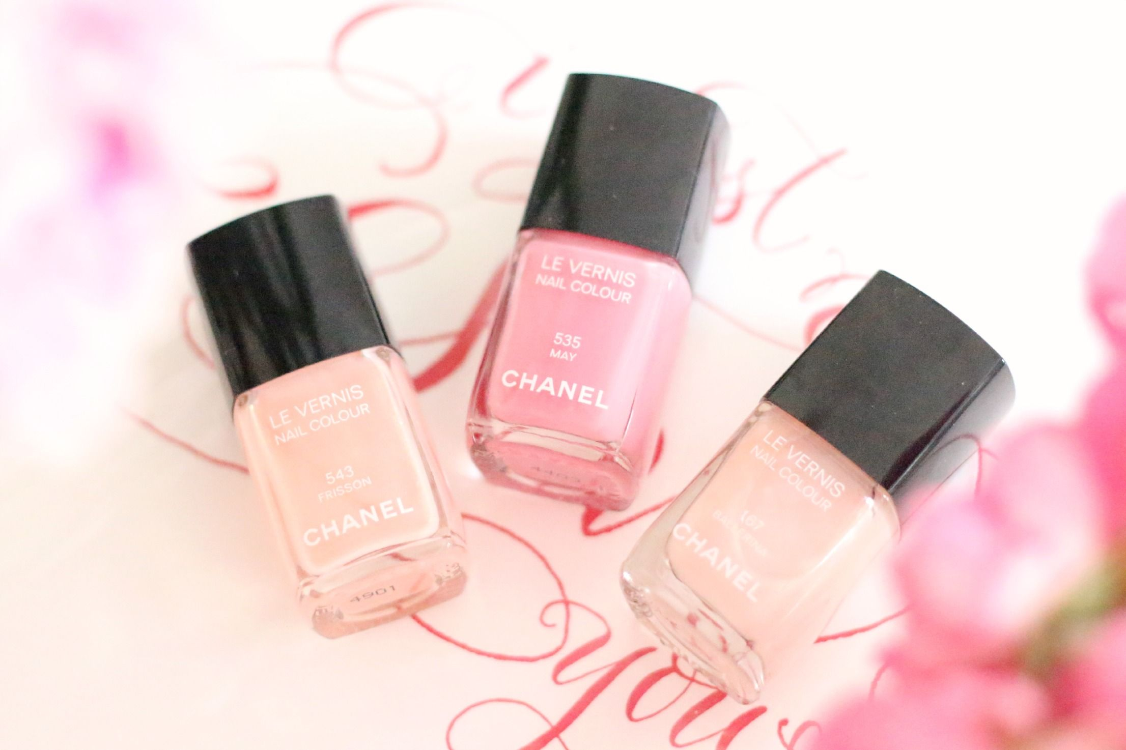 The perfect pink Chanel polish