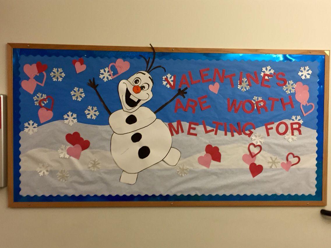 Preschool Valentines Day Bulletin Board Intend