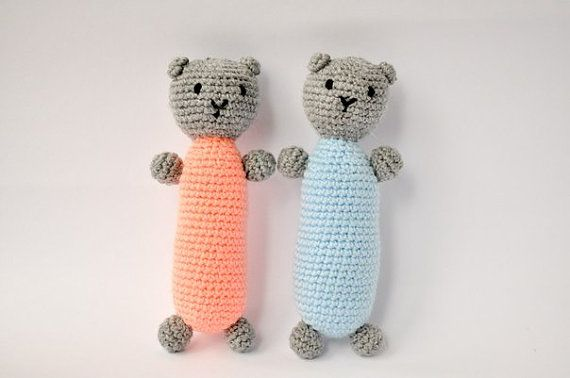 Little crochet bear for you little one. от MargoToys на Etsy