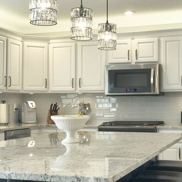 From 2002 To 2017 This Kitchen Is An Instant Classic We Completely Refinished All The Cherry Perimeter Cabinets New Desk Area In White To Compliment The New Kitchen Remodel