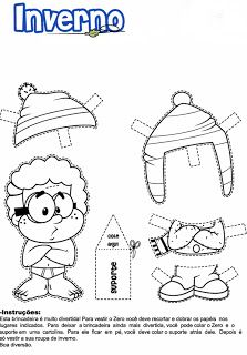 35 Atividades De Inverno Desenhos Colorir Imprimir Atividades De