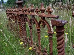 rusty fences - Google Search