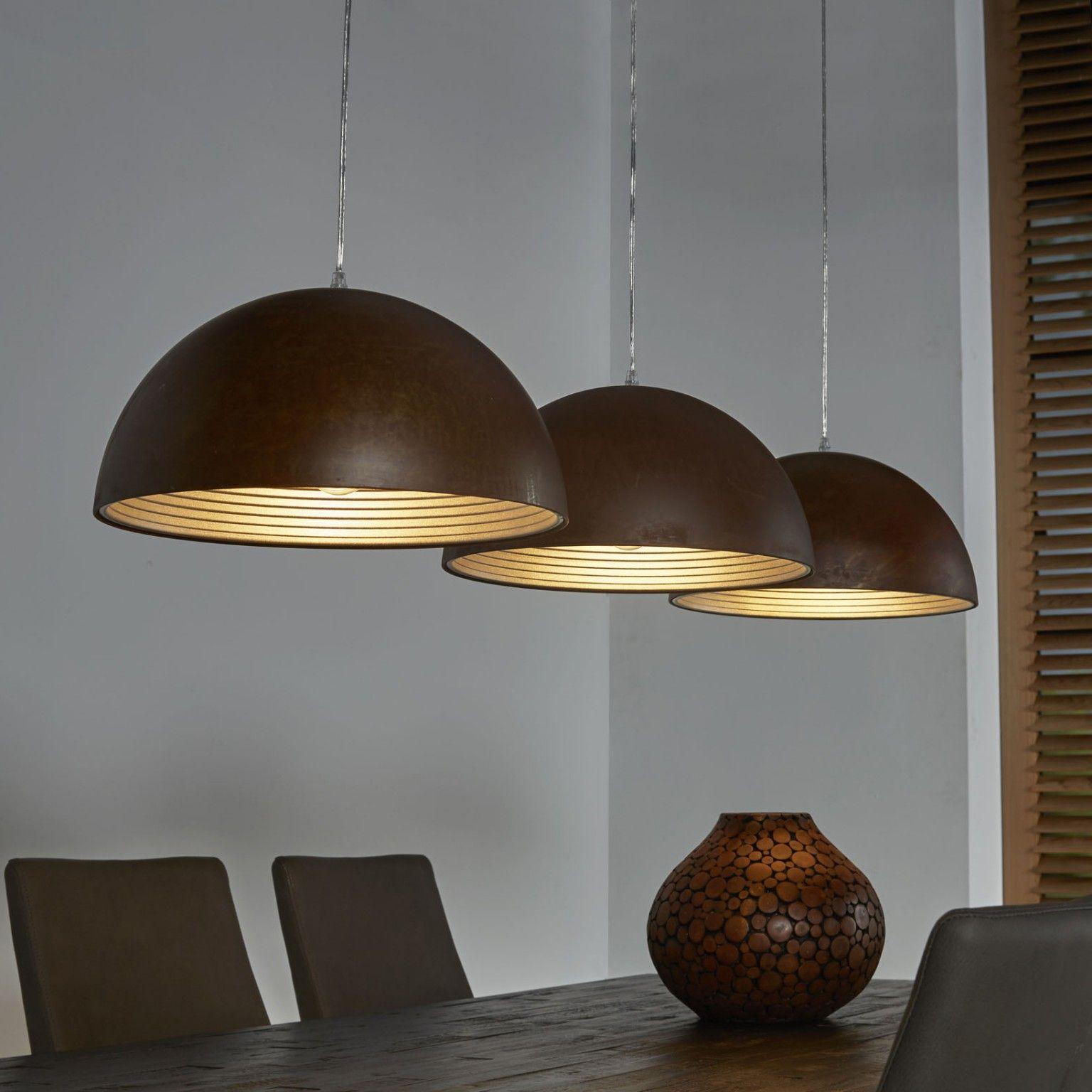 Hanglamp Hyun 3 Lamps Eettafel Verlichting Hanglamp Vintage Industrieel Meubilair