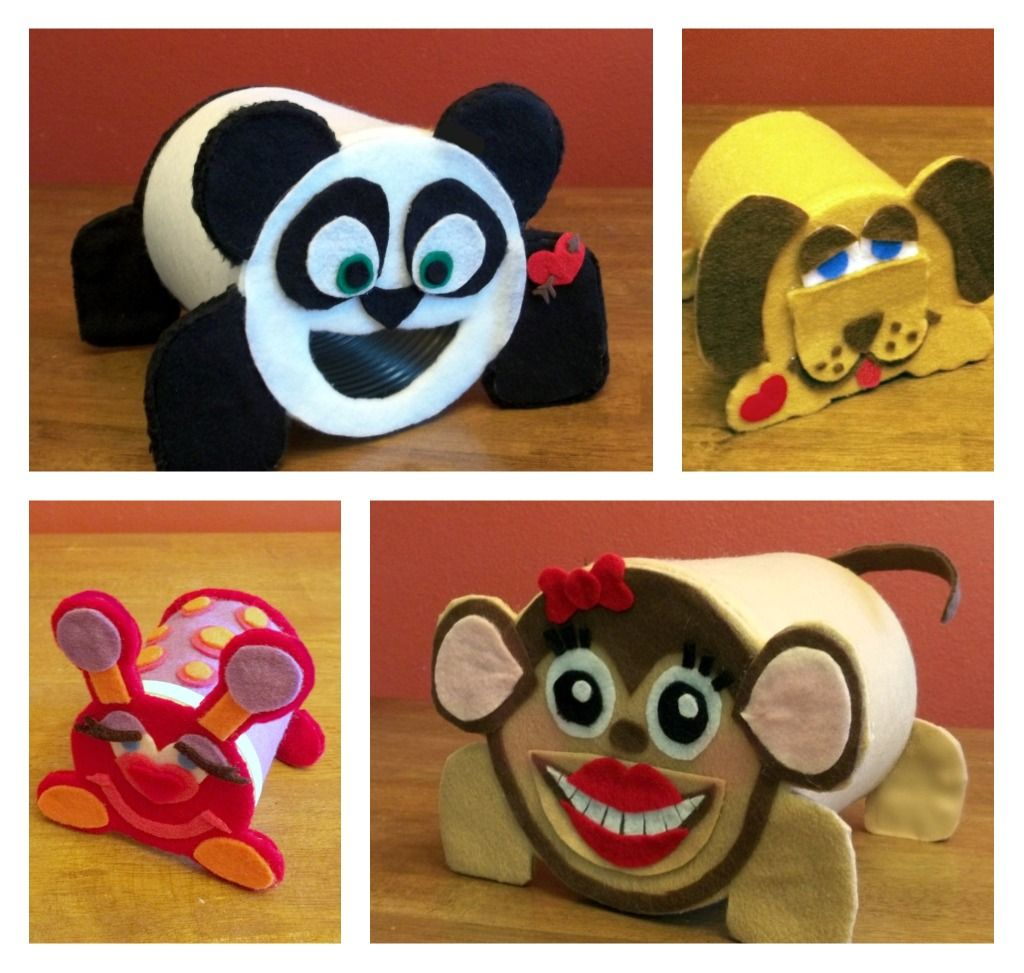 Panda Valentine Box For Autumn