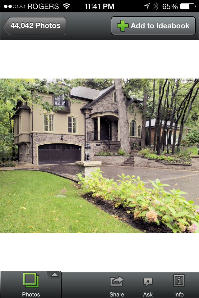 This Would Make A Beautiful Split Level Home Beautiful Houses Pics Exterior Remodel Exterior Makeover