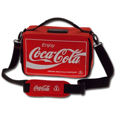 Coca Cola Icooler Small Soft Sided Cooler Bag Perfect For Carrying A Can Of E And My Meds