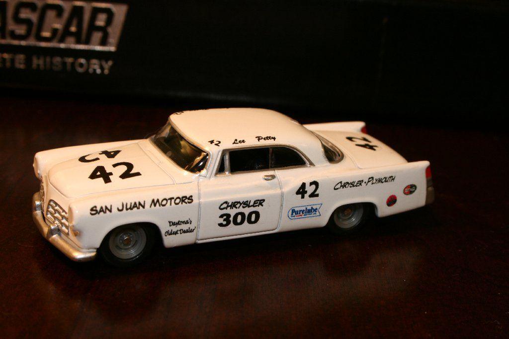 Lee Petty 1955 San Juan Motors Chrysler 300 Custom Built Nascar