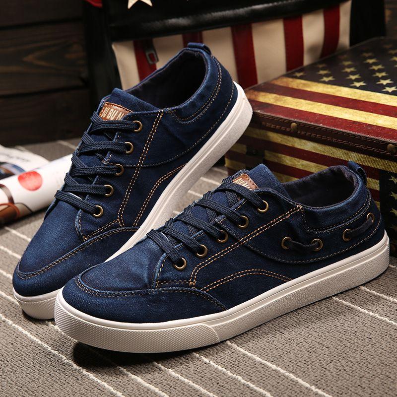 Denim Casual Canvas Shoes Flats