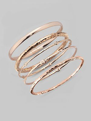 Ippolita Bracelets With Rose Gold