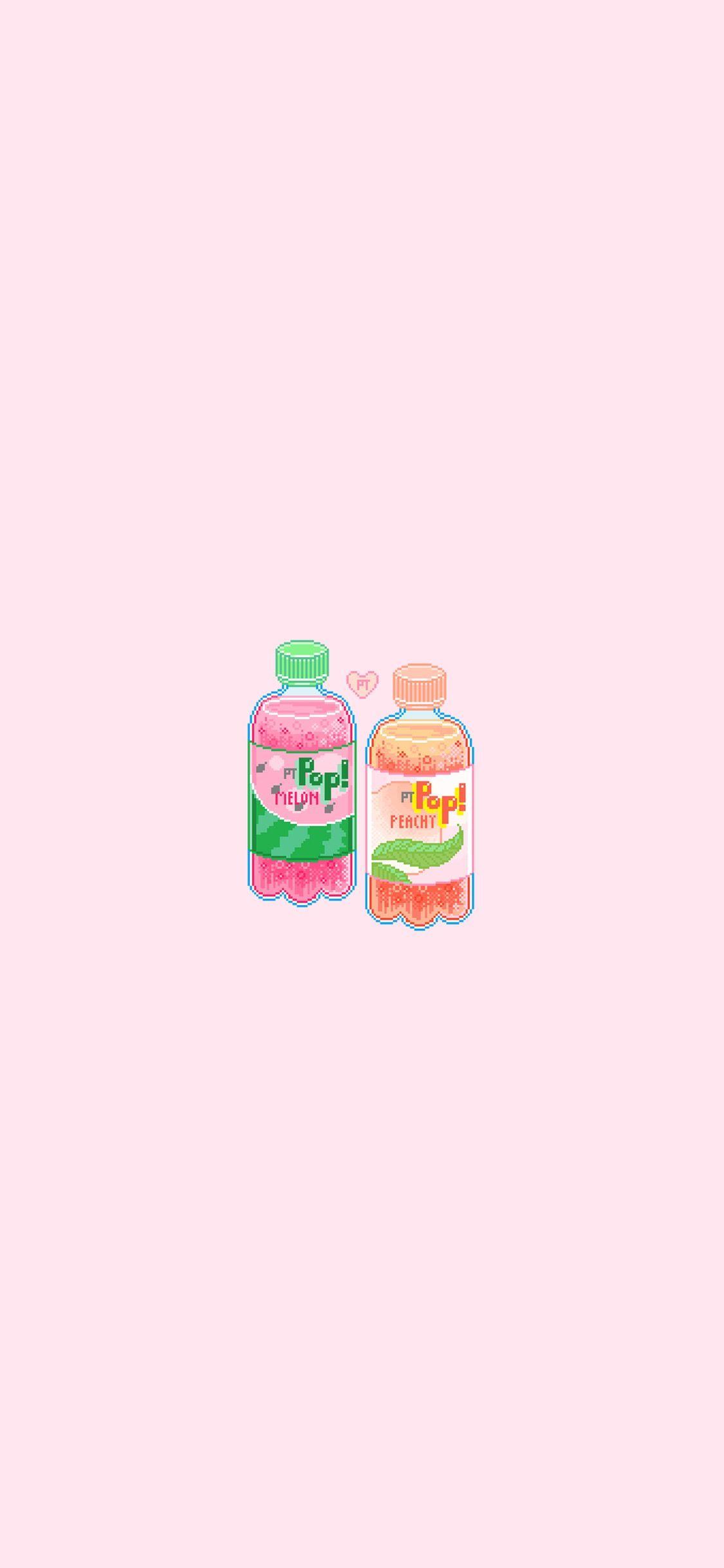 Iphone Pixel Wallpaper Cute Lockscreens Kawaii Wallpaper Iphone Wallpaper
