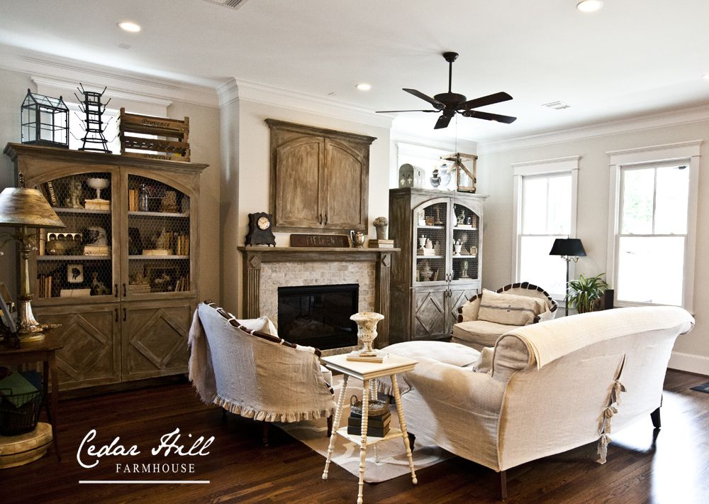 Country French Farmhouse Style Home Tour