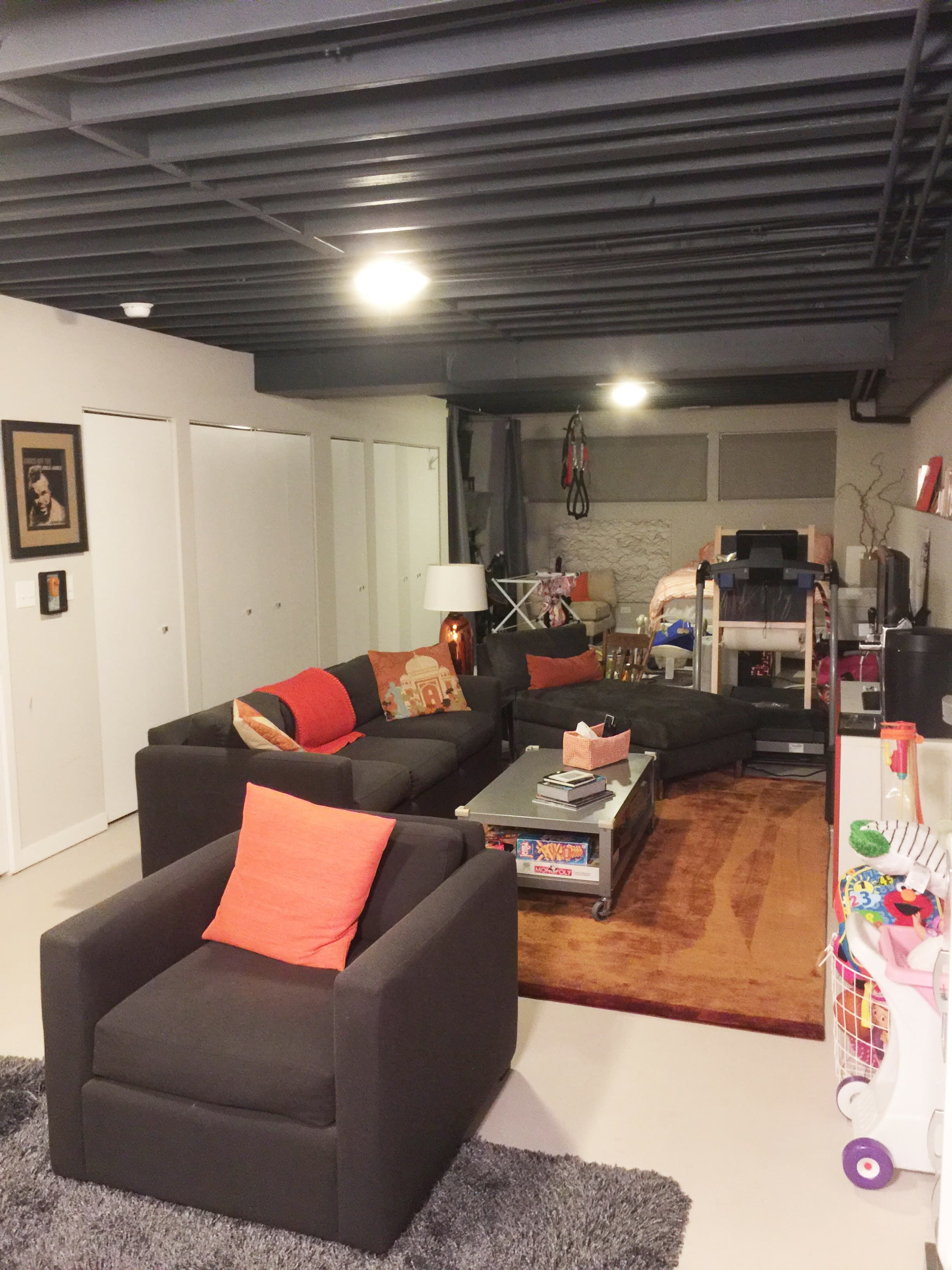 You asked the remodeling pro answers how to get most out of  semi finished basement also cool unfinished ideas for any budget my home rh pinterest