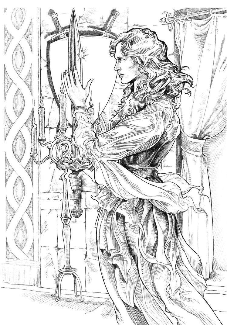 Eowyn by NachoCastro | Tolkien | Pinterest | Tierra media, Tolkien y ...