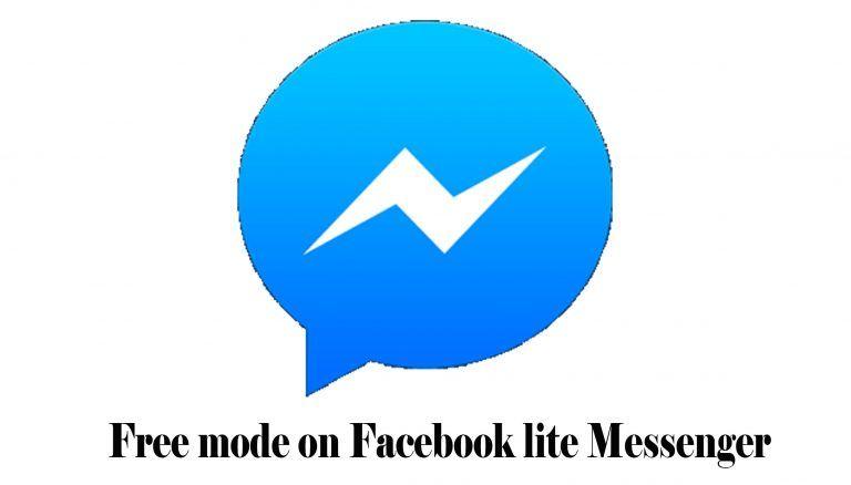 Free Mode On Facebook Lite Messenger Facebook Zero Messenger Lite App Download Techshure Download App Messaging App Messenger