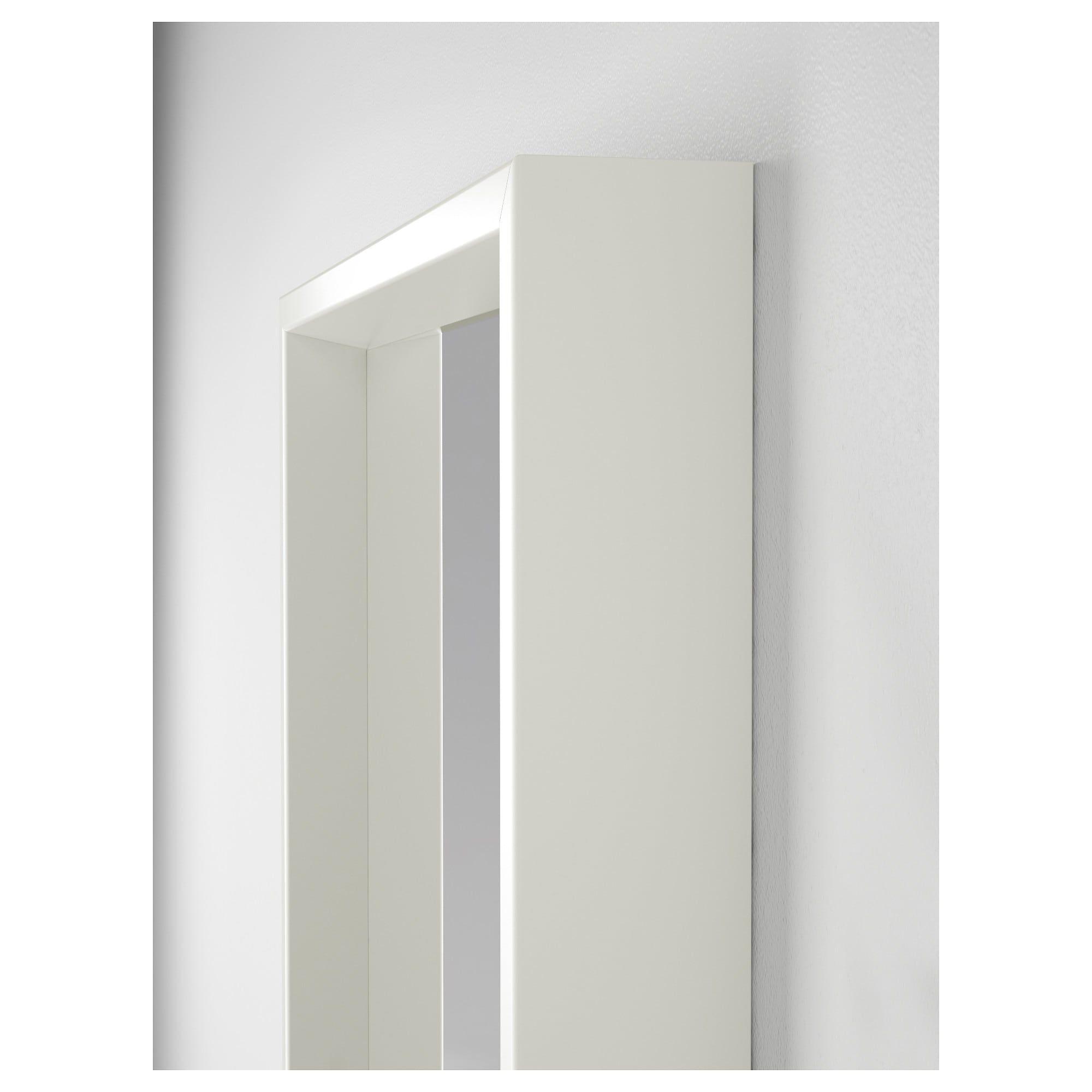 Nissedal Spiegel Wit 40x150 Cm Ikea Spiegel Spiegelglas Grote Spiegel