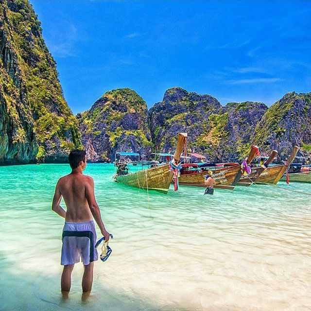 Phi Phi Islands, Thailand By: @cbezerraphotos Tag someone you love! To be featured #globalventure