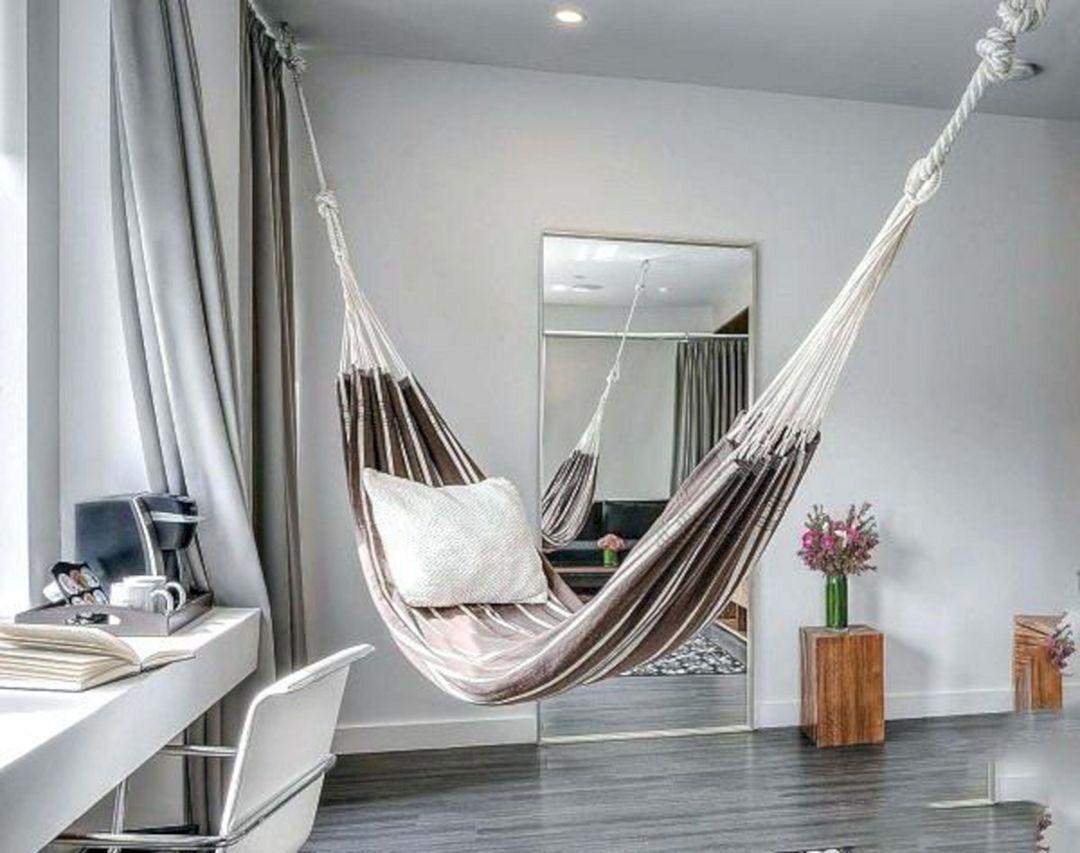 20+ Best Indoor Hammock Ideas For Comfortable Living Room