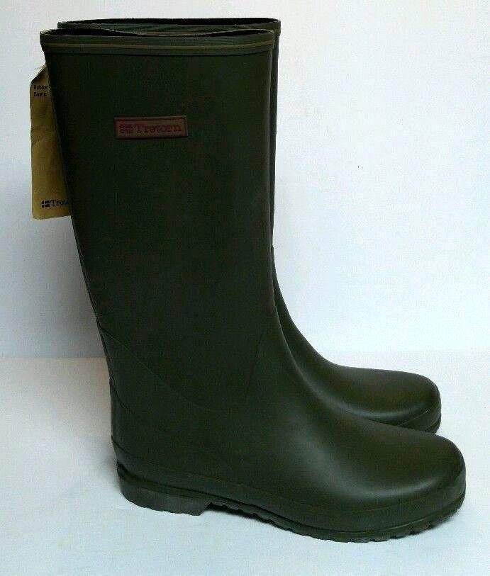 Tretorn Kelly Vinter Rain Boots Olive Green Women's 7 Welly Wellies Muck NEW