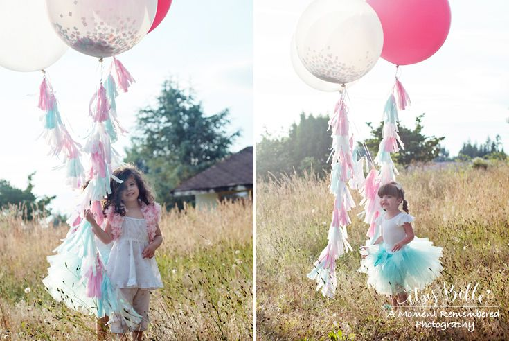 Confetti Balloons and Tassels by One Stylish Party Little Lamb
