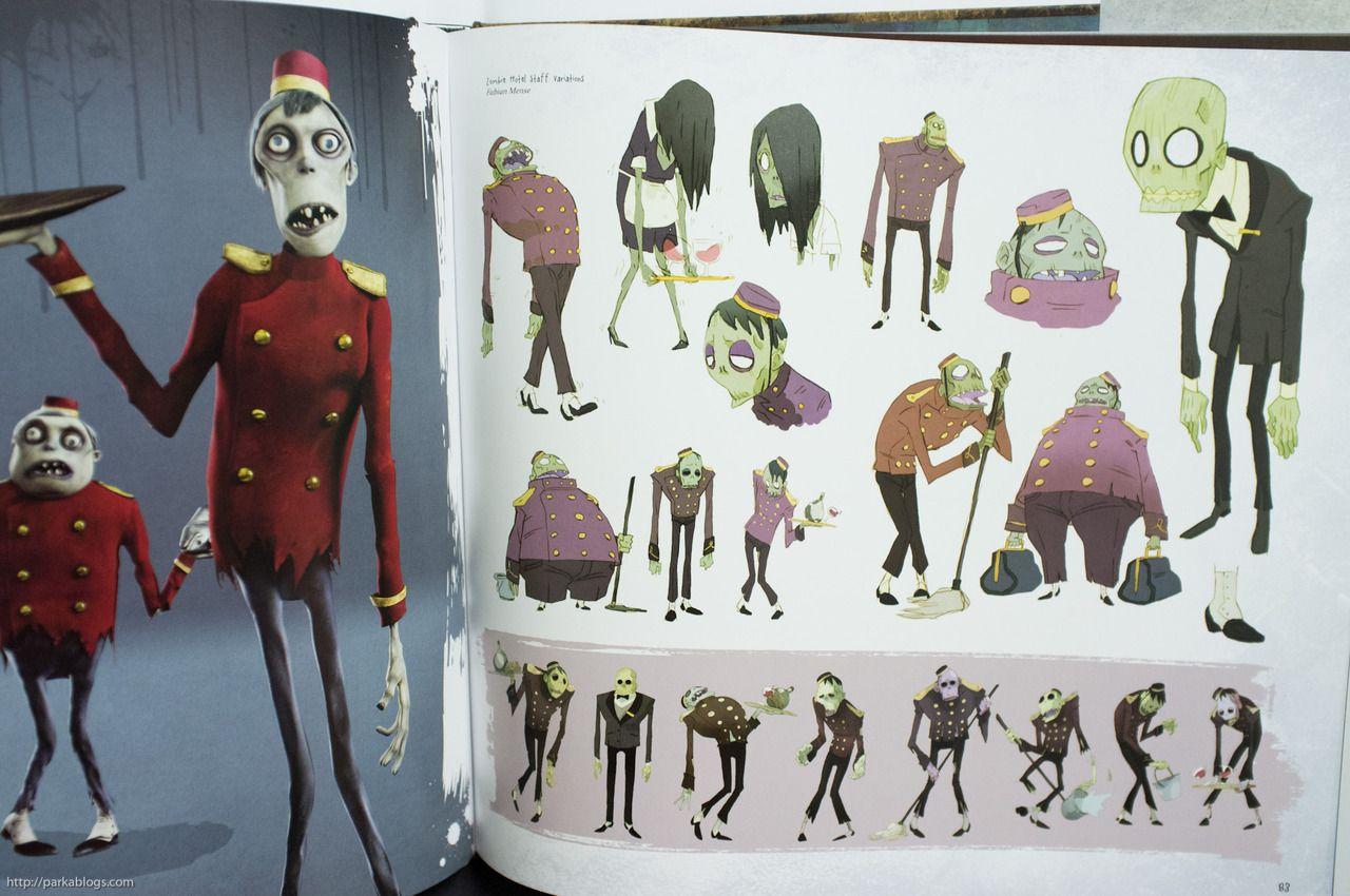 Character Design Artbook : Living lines library hotel transylvania