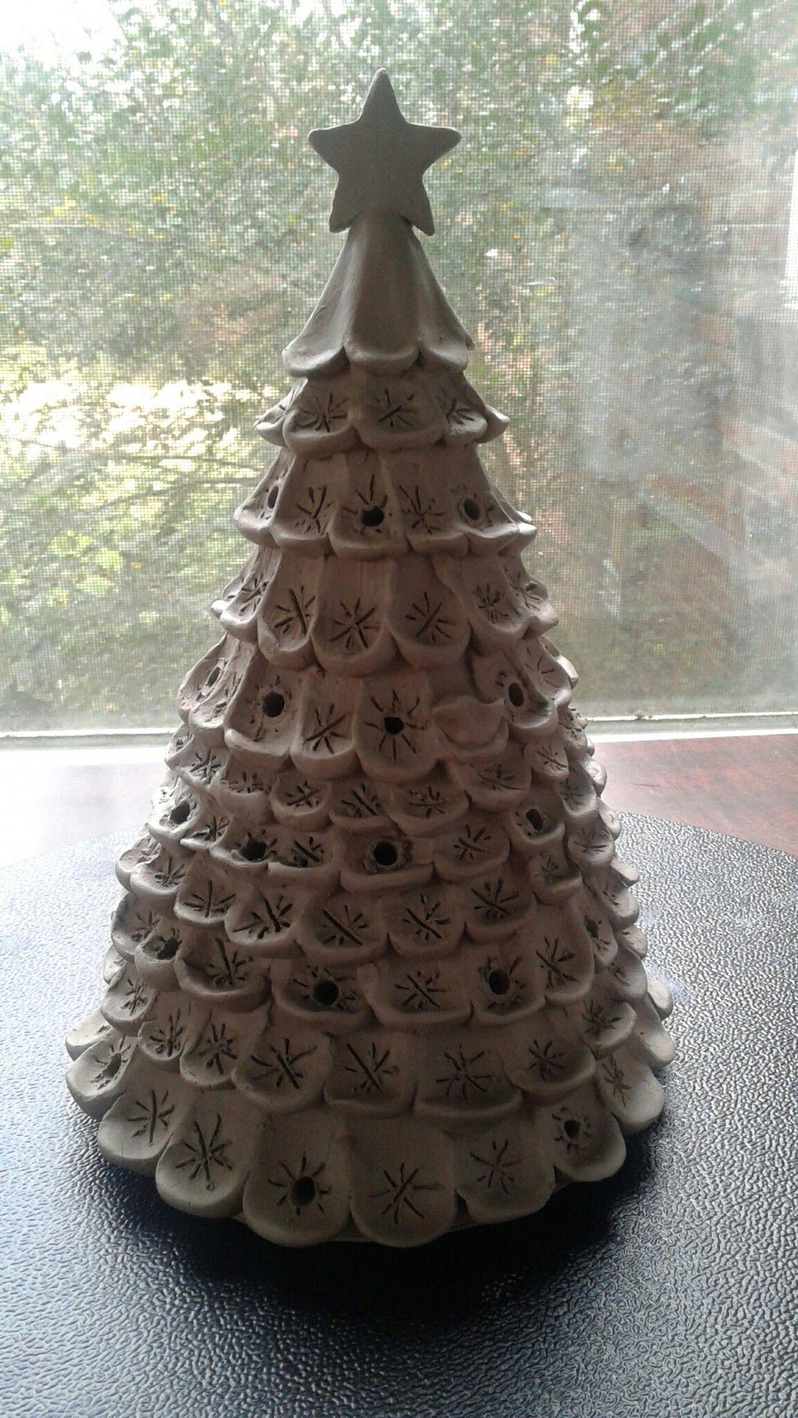 Christmas Trees Pottery In 2019 Pottery Ceramic Pottery Ceramics