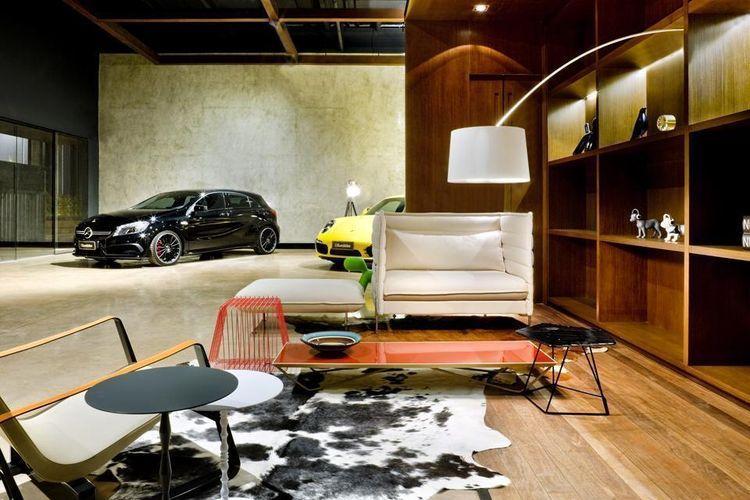 Showroom Eurobike - Porsche in Brasilia, by 1:1 arquitetura:design