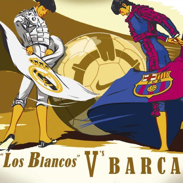Real Madrid Vs Barcelona...el Clasico Mañana!! La Liga Es