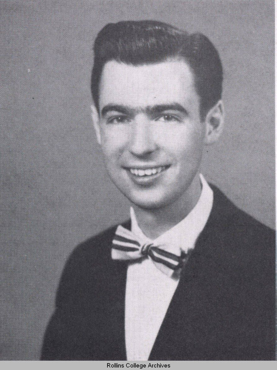 Fred Rogers In The Seniors Section Of The 1951 Tomokan Yearbook Photo Rollins College Archives Special Colle Fred Rogers Mister Rogers Neighborhood Rogers