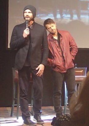 Jared and Misha JIBLAND16 Credit https://twitter.com/KarenFayLark