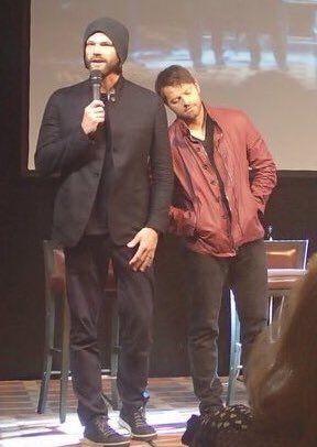 Jared and Misha JIBLAND16 Credit https://twitter.com/KarenFayLark