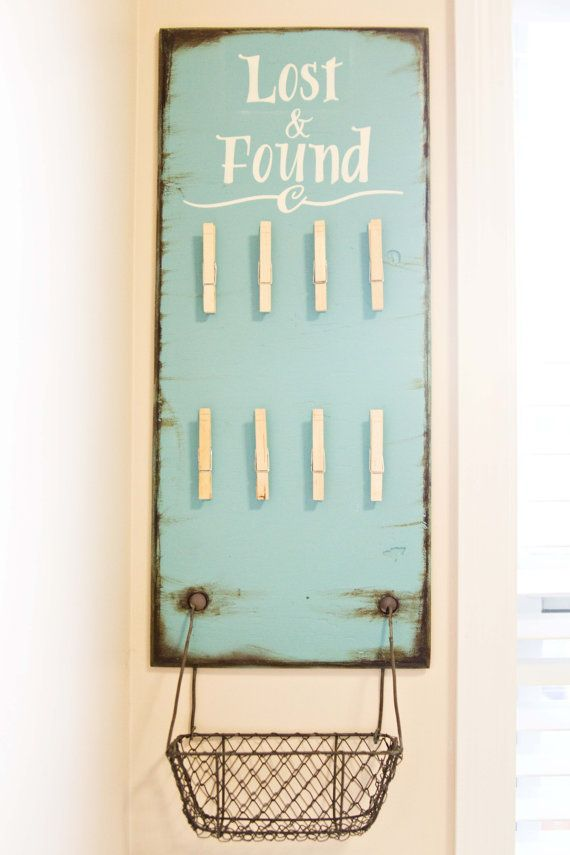 super cute for a laundry room