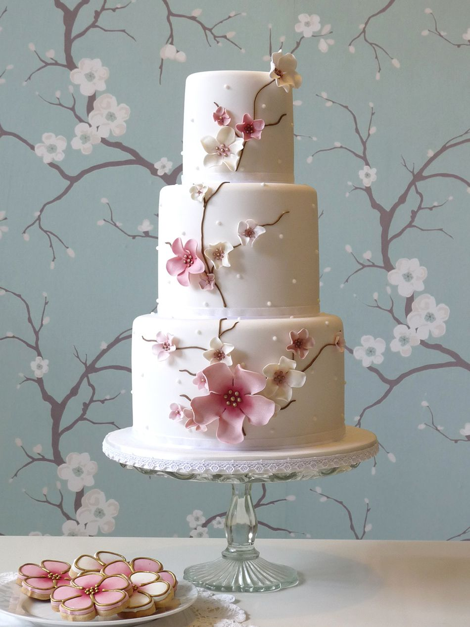 Wedding Ideas By Colour Pastel Pink Cakes