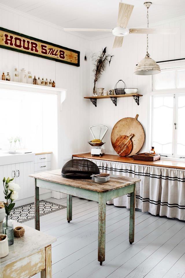 a bundaberg queenslander with white interior colour scheme in 2020 kitchen design home decor on kitchen interior queenslander id=16809