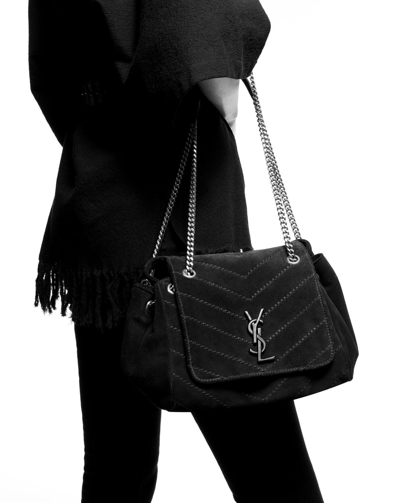 9b840e3f2c7d Saint Laurent Small NOLITA Bag In Vintage Leather